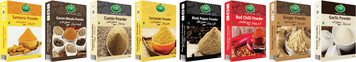 puro food spices range black pepper powder puro food masala masla brands