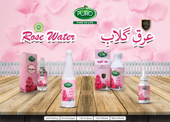 Rose Water - Arq-e-Gulab